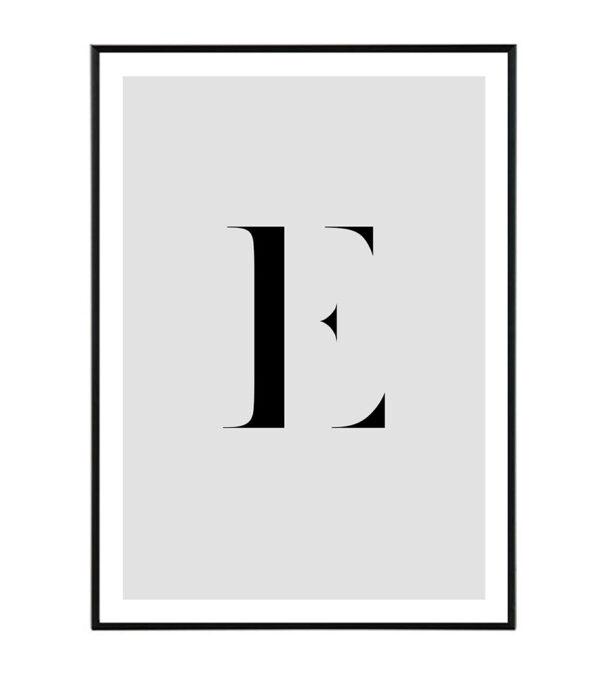 Letter E 6
