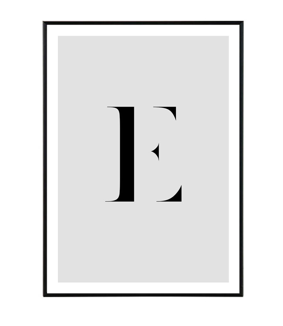 Letter E 1