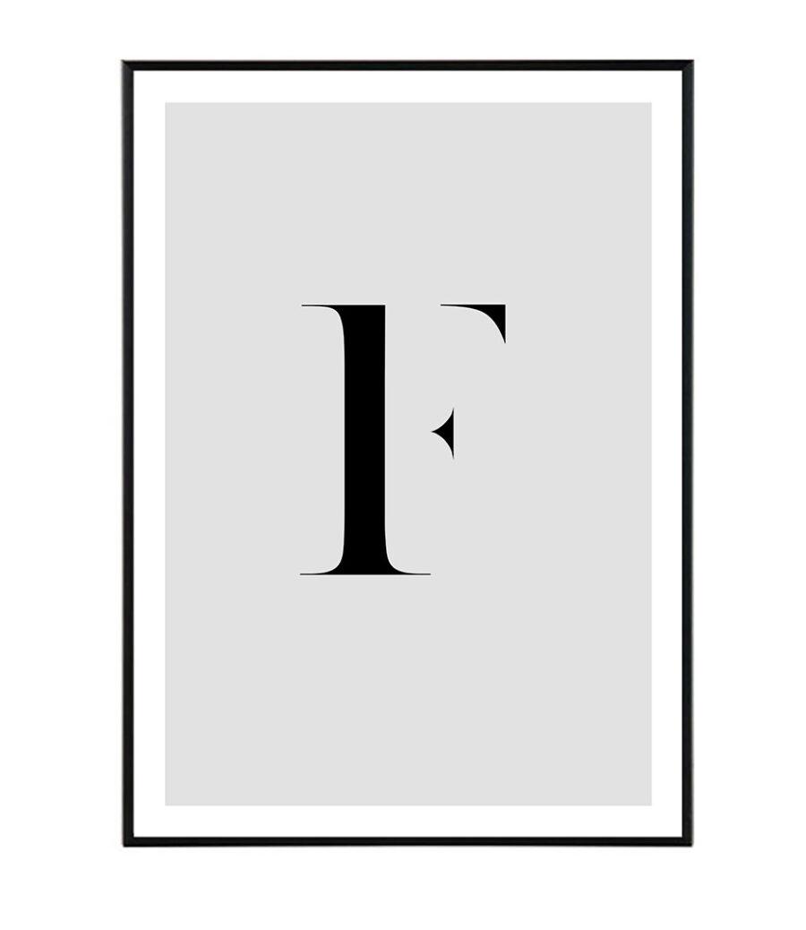 Letter F 1