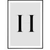 Letter H 1