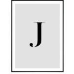 Letter J 10