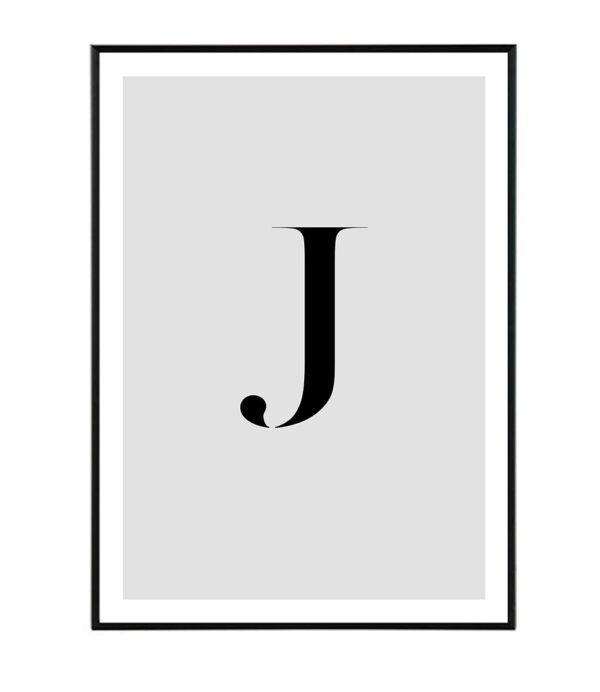 Letter J 9