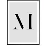 Letter M 10