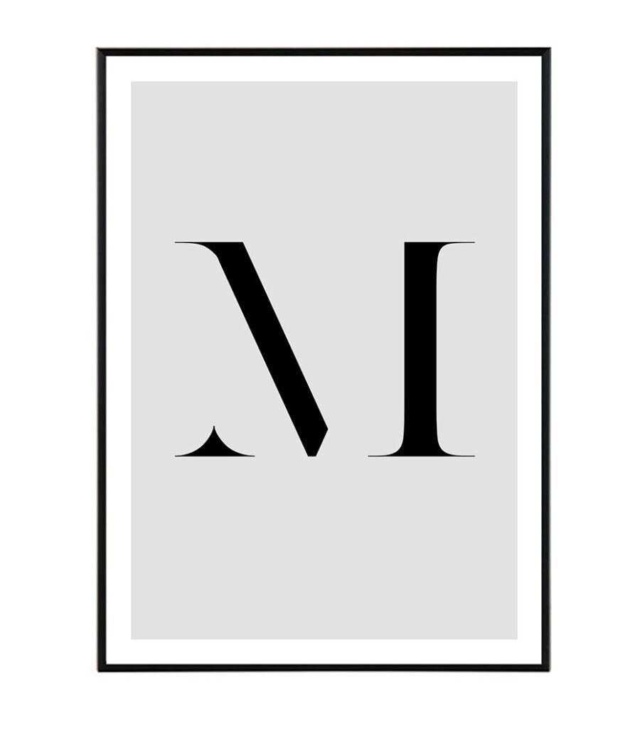 Letter M 1