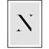 Letter N 1
