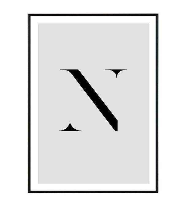 Letter N 33