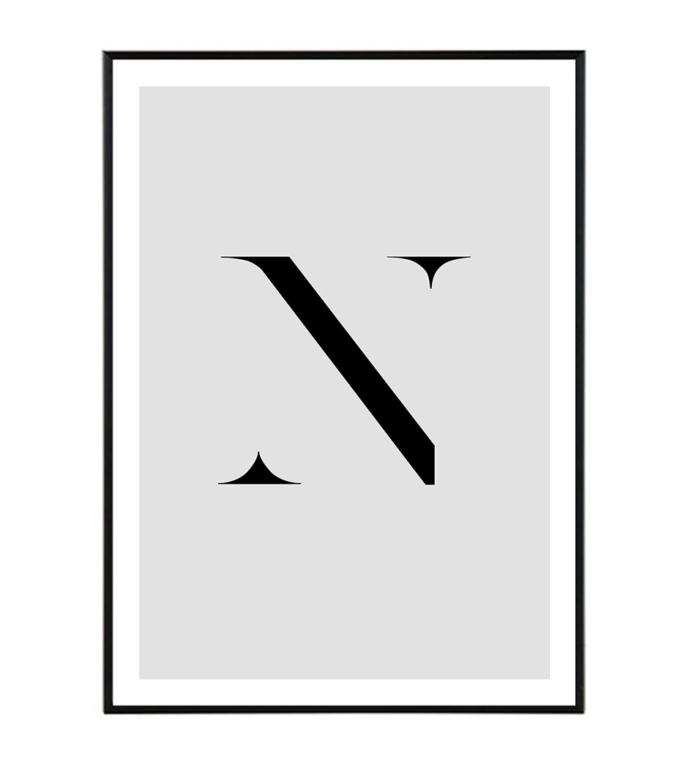 písmeno plakat design studio Laforma