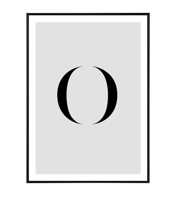 Letter O 8