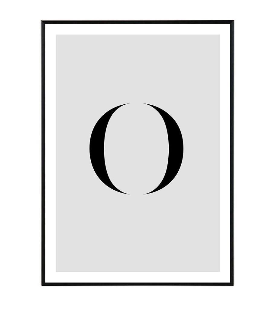 Letter O 1