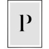 Letter P 1