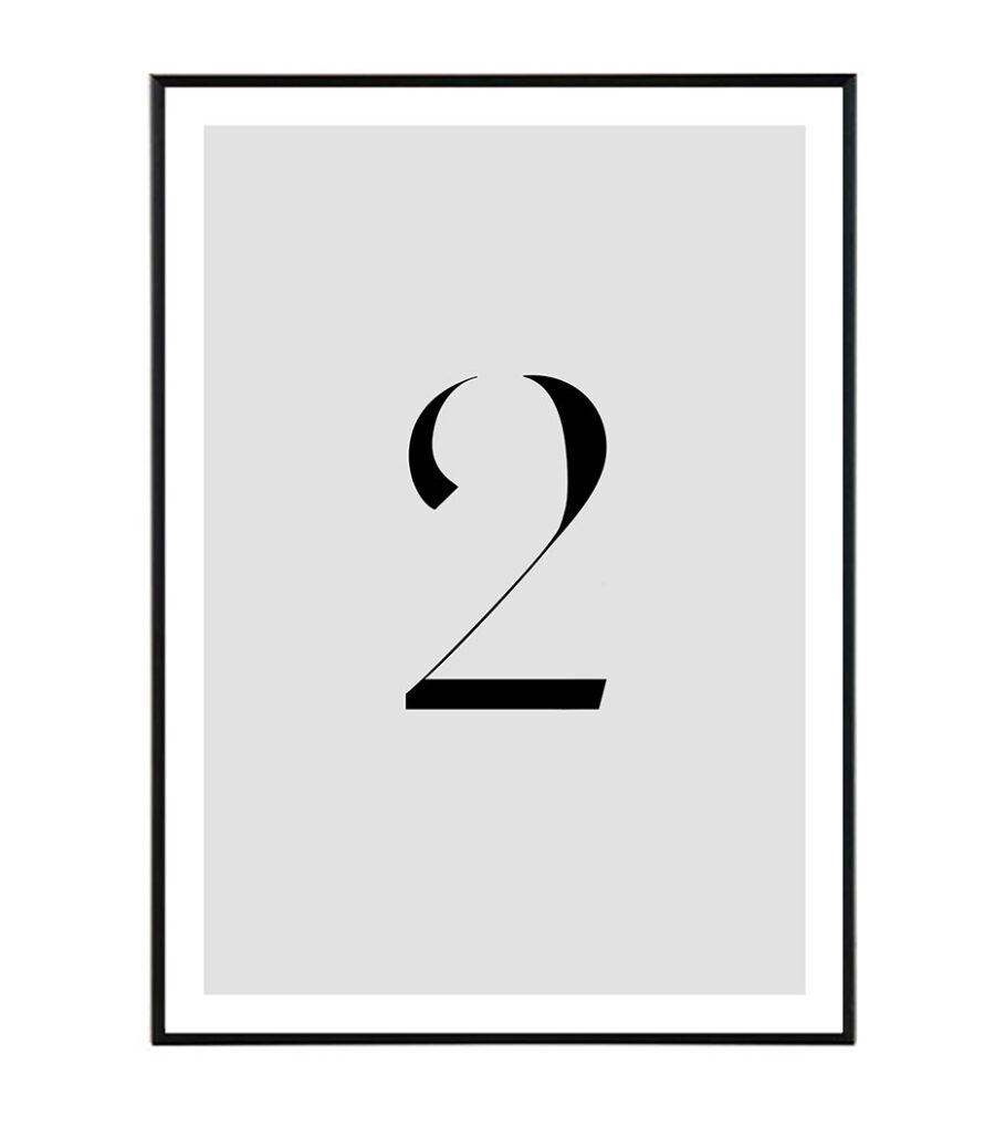Number II 1