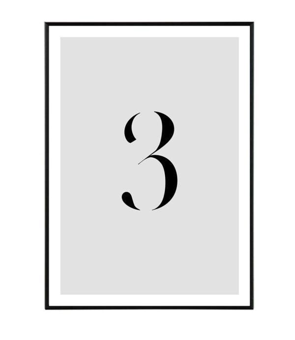 Number III 165