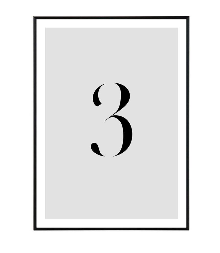 Number III 1