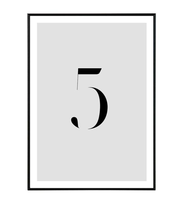 Number V 32