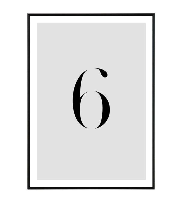 Number VI 36