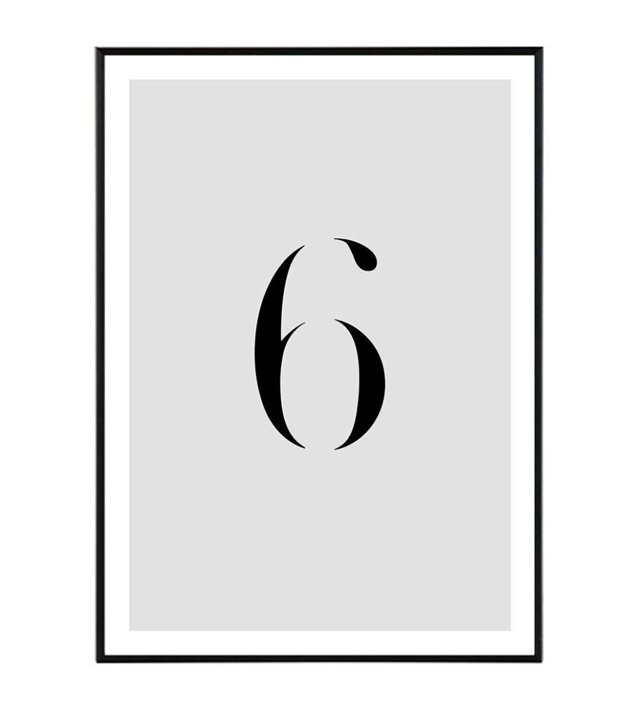Number VI 1