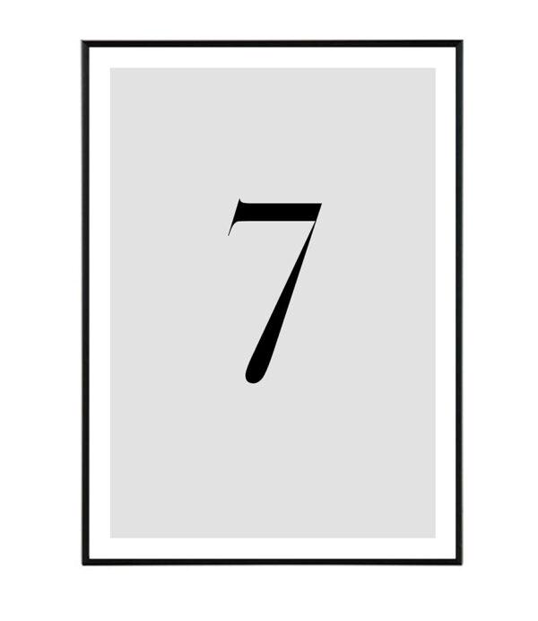 Number VII 8