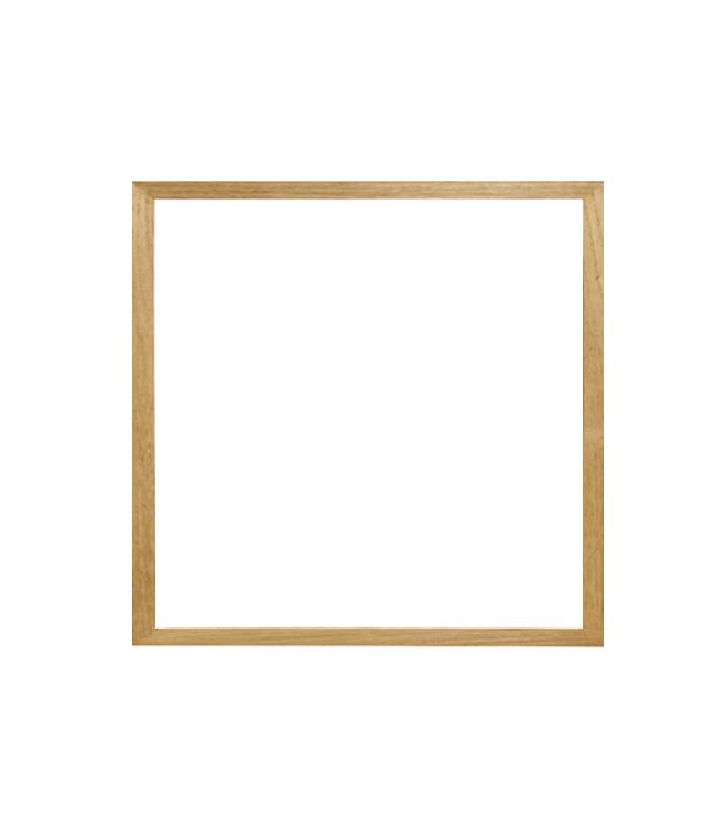 dubový rám CLASSIC 50x50 cm 1