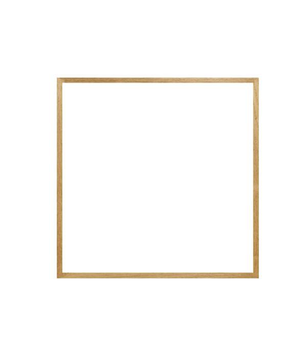 dubový rám LIGHT 50x50 cm 18