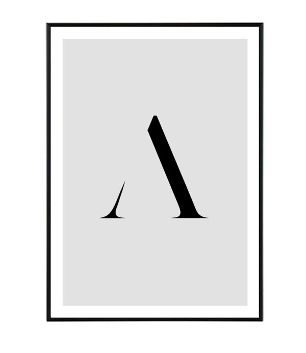 Letter A 6