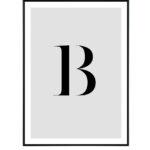 Letter B 10