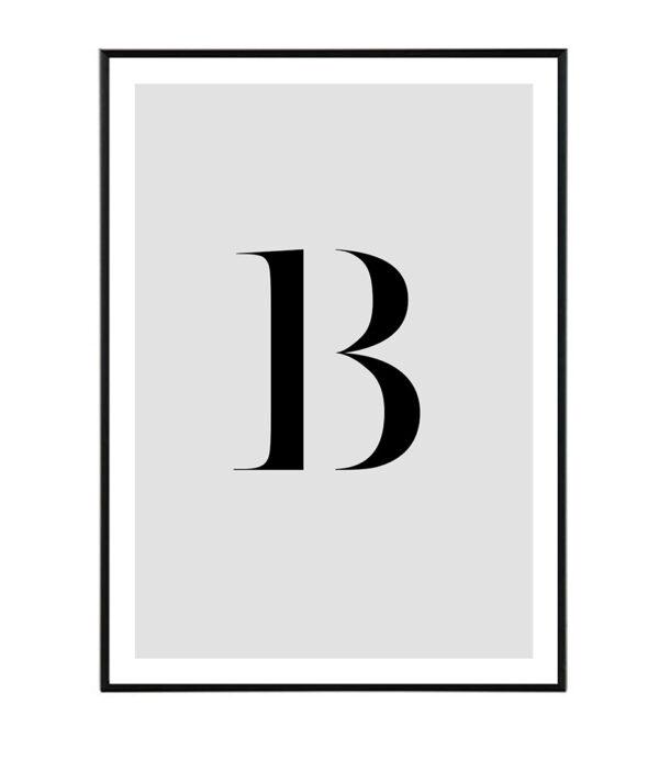 Letter B 6