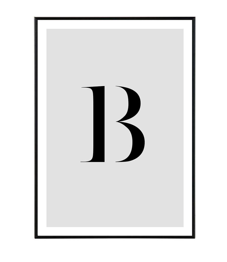 Letter B 1