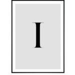 Letter I 10