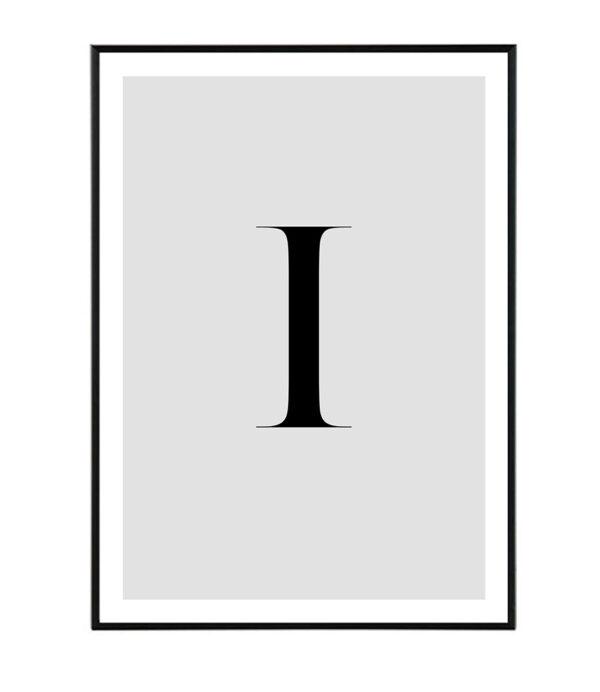 Letter I 8