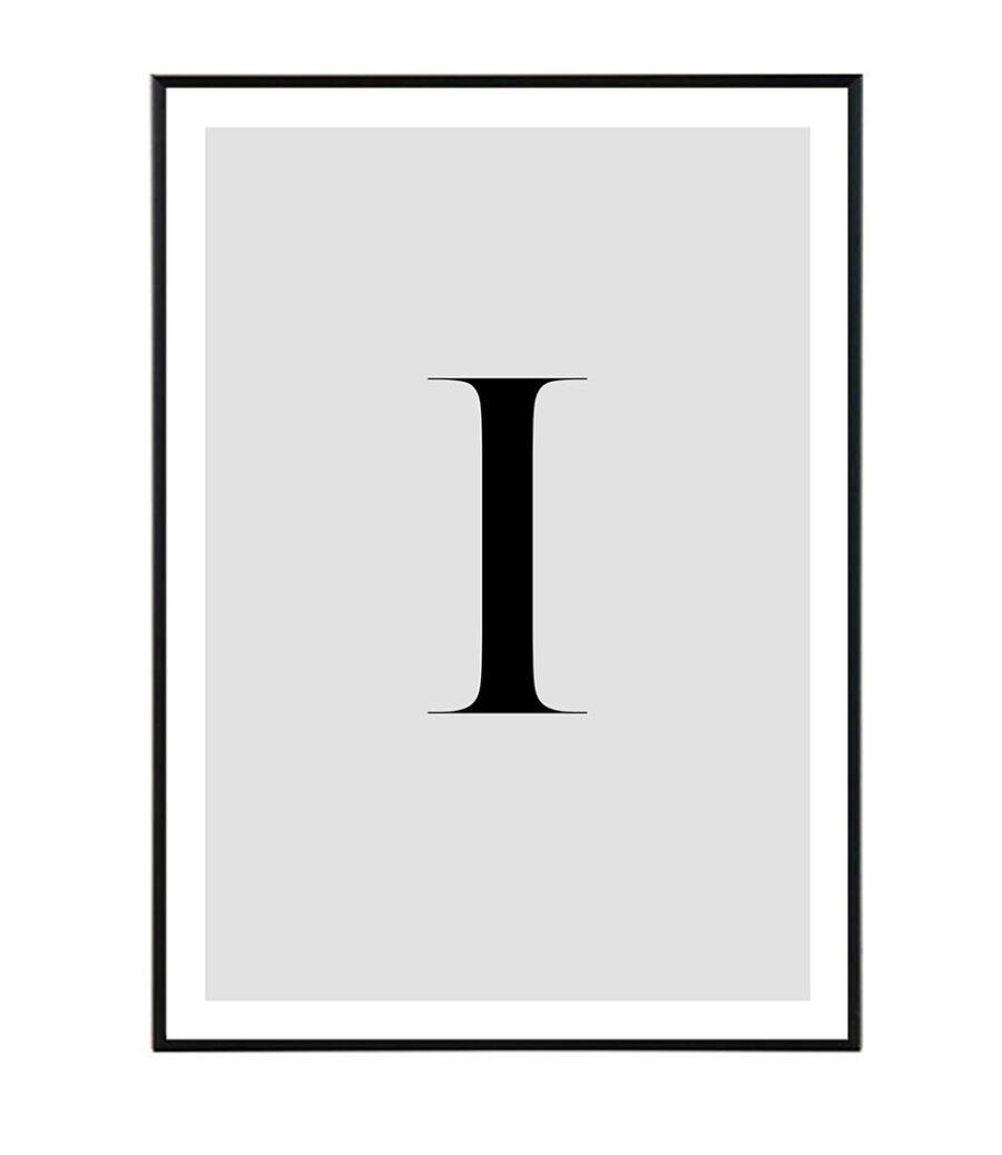 Letter I 1
