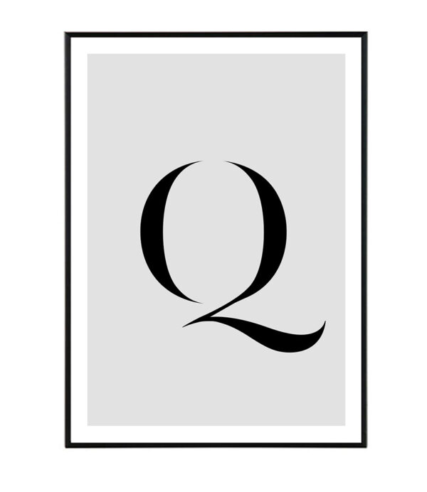 Letter Q 6