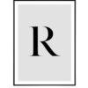 Letter R 1