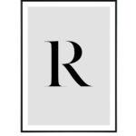Letter R 10