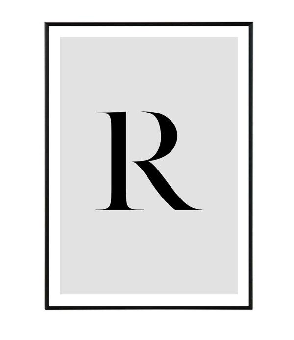 Letter R 6