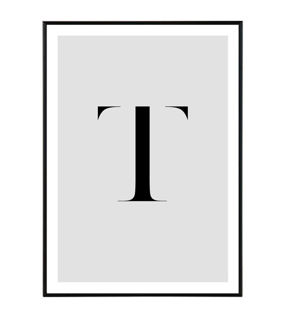 Letter T 1