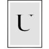 Letter U 1
