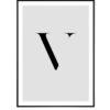Letter V 1