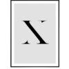 Letter X 1