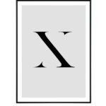 Letter X 10