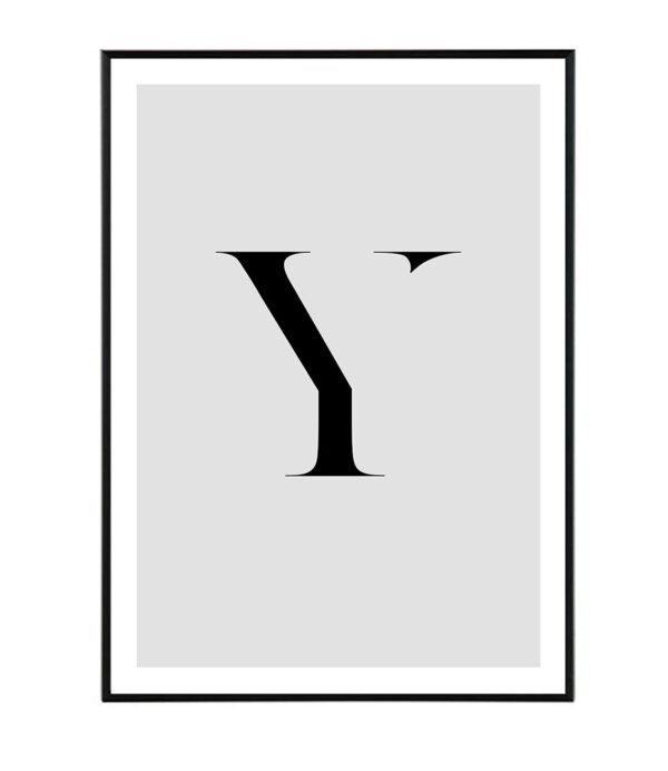Letter Y 8