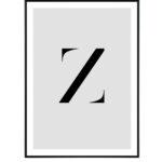 Letter Z 10