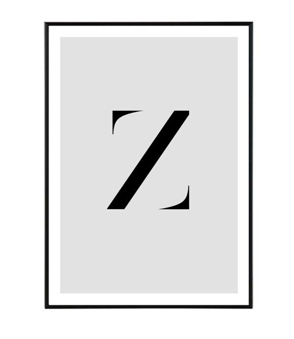 Letter Z 32