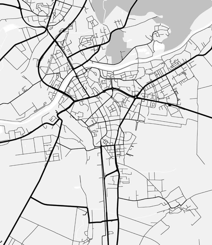 mapa Česká Republika