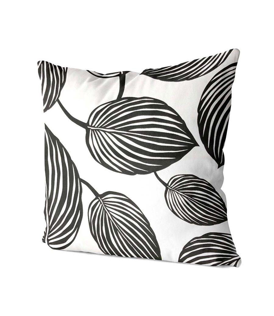 dekorativní geometrický povlak na polštář Leafy 40x40 cm 2