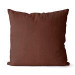 dekorativní povlak na polštář Full v tmavě čokoládové barvě 40x40 cm 7