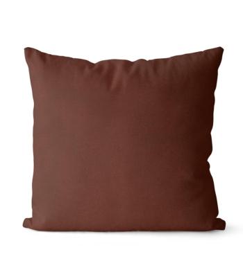 dekorativní povlak na polštář Full v tmavě čokoládové barvě 40x40 cm 31