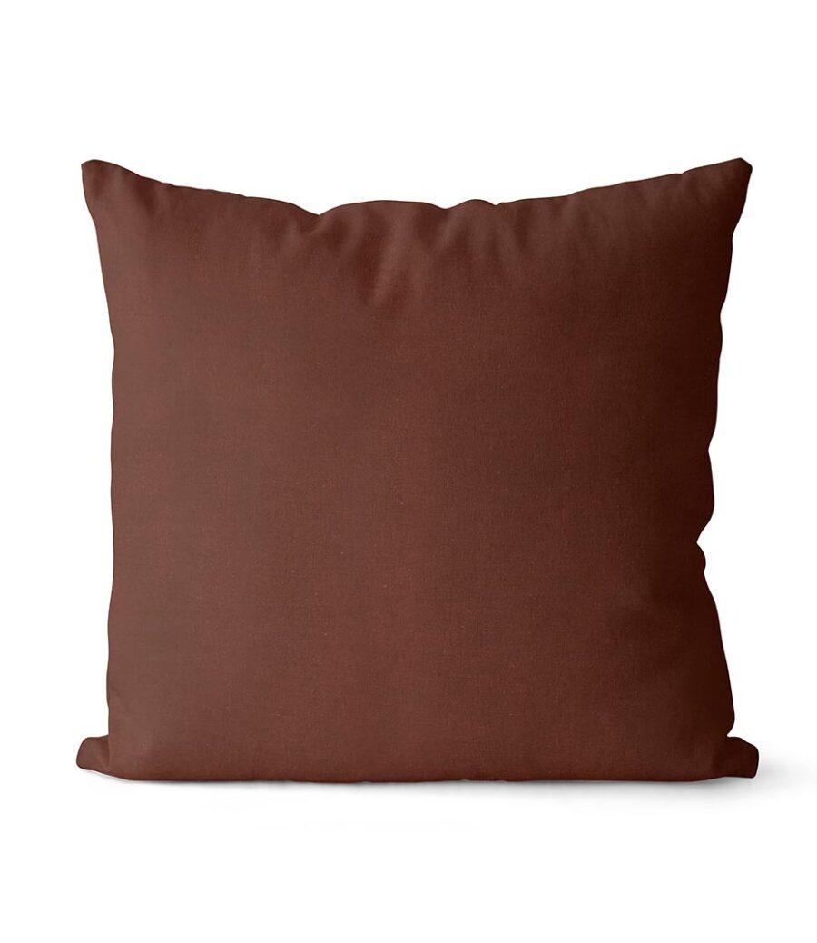 dekorativní povlak na polštář Full v tmavě čokoládové barvě 40x40 cm 1