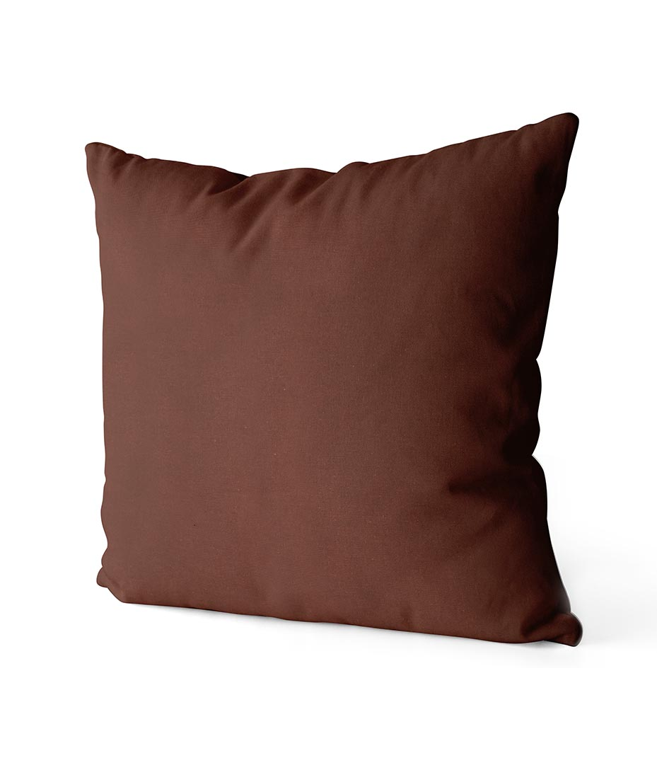 dekorativní povlak na polštář Full v tmavě čokoládové barvě 40x40 cm 2