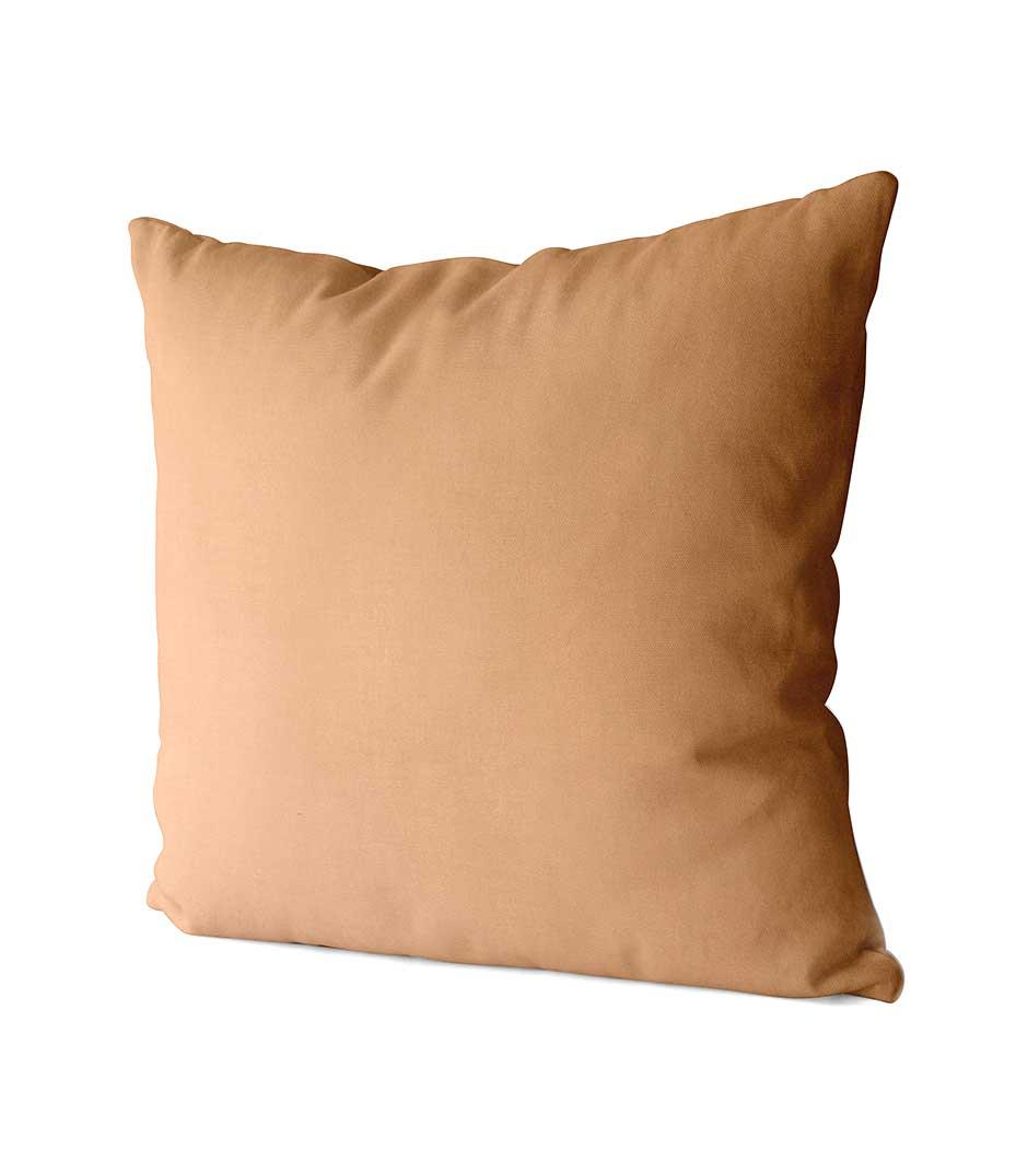 dekorativní povlak na polštář Full v jemně karamelové 40x40 cm 2