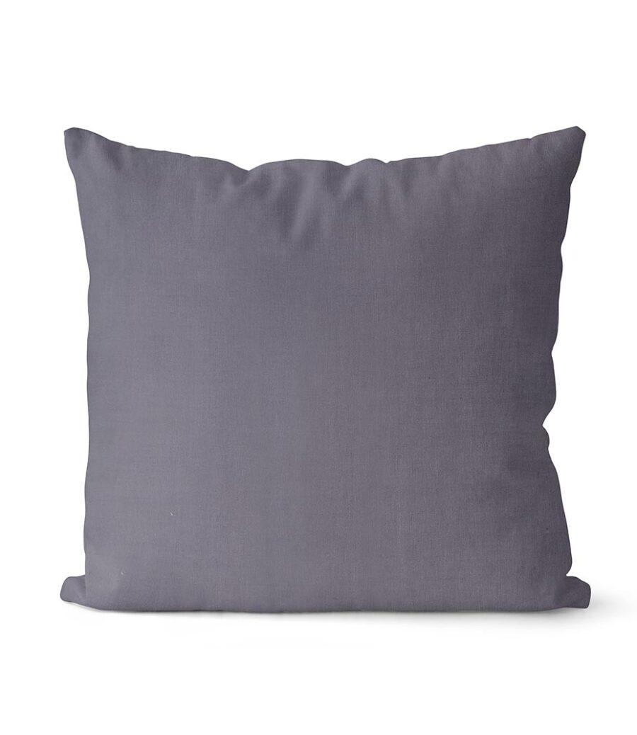 dekorativní povlak na polštář Full v tmavě šedé barvě 40x40 cm 1